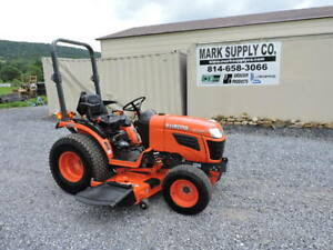 2014 Kubota B2320 Compact Tractor Belly Mower 3 Point Hitch Pto 4x4 Diesel