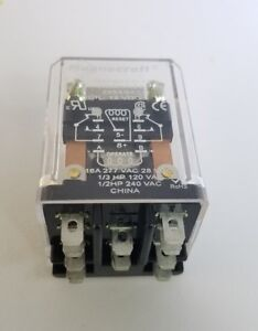 785xbxcd 12d Magnecraft 16a 277 Vac 28vdc Magnetic Latching Relay