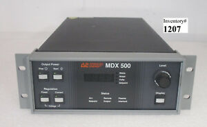 Ae Advanced Energy Mdx 500 Dc Power Supply 3152342 001 C used Tested Working