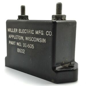 Miller Electric Mfg Co Capacitor 31 605 8602 Vintage Spare Part