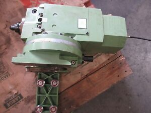 Maho Mh600e Cnc Vertical Mill Spindle Z Axis Head Unit