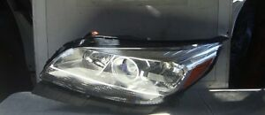 2013 1014 2015 2016 Chevy Malibu Left Side Headlight Used Oem Proyector Type