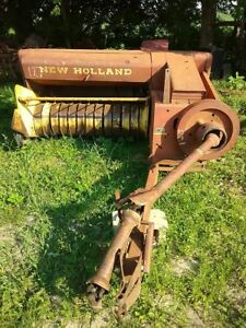 New Holland 271 Wire Tie Small Square Baler