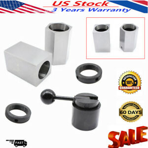 5c Collet Block Chuck Set rings Or Square hex Lathes Closer Holder Workholding