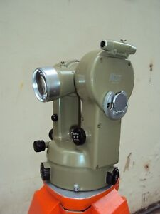 Theodolite Kern K1 a With Its Case Needs Calibration