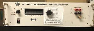 Iet Prs Series Programmable Resistance Substituter Model 2prs f 6 10 rm 2ieee
