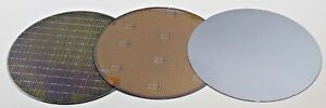 Assorted Silicon Test Wafer 8 lot Of 3