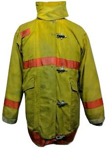 Morning Pride Firefighter Turnout Coat Bunker Jacket Prepper Fire Safety Ppe