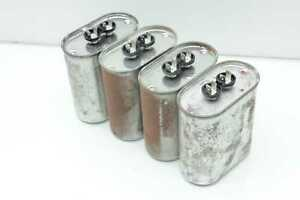 4 Cornell Dubilier Cde 20uf 660vac Motor Run Or Audio Capacitors Oil Can