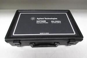 Agilent N2782b 50 Mhz 30 Arms Ac dc Current Probe W N2779a Power Supply