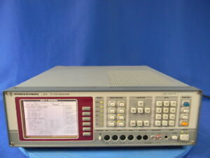 Rohde Schwarz Efa Tv Test Receiver With Options B3 B11 B12 and B13