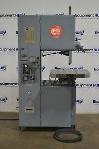 Grob 4v 18 18 Variable Speed Metal Cutting Vertical Band Saw