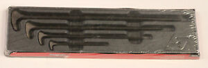 New Snap on Pbs704 Rolling Head Prybar Set 4pc