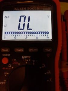 5 Stars Klein Professional Series Multimeter Mm2000 Hvac Electrician Meters