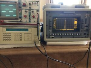 Wavetek 2407 Rf Signal Generator 0 01 550 Mhz Calan 1776 And Free O scope