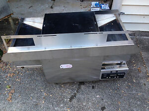 Qmatic Q 20emp Commercial Countertop Conveyor Oven Toaster 220v 1 Ph