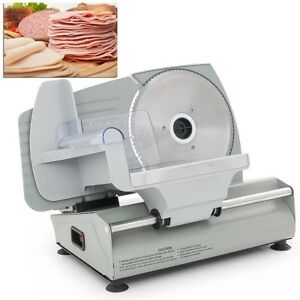 Electric Meat Slicer 7 5 Blade Home Deli Meat Food Slicer Premium Home Kitchen