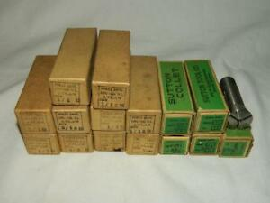 Lot Of 16 Porst Sutton Round Collets For Atlas Lathe See Listing For Sizes