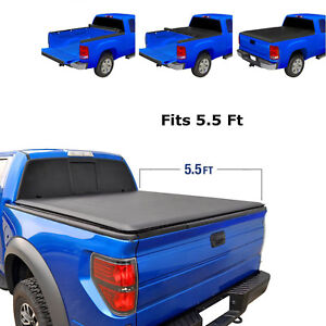 Roll Up Soft Tonneau Cover Jdmspeed 5 5 Short Bed For Ford F 150 2004 2018