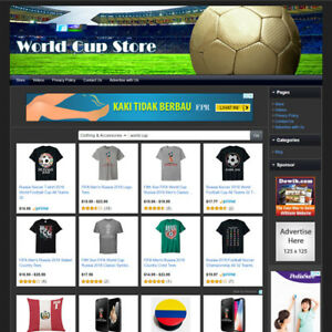 Fifa World Cup Store Online Business Website For Sale Amazon Google Make Money