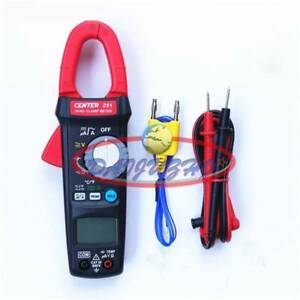 Clamp Meter hvac Trms Small size Portable 600v 10a Center 251 New