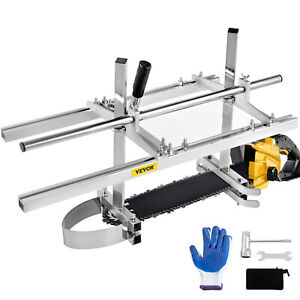 Chainsaw Mill 14 36 Chain Saw Mill Portable Log Planking Lumber Aluminum Steel