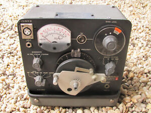 Vintage Sound And Vibration Analyzer General Radio Company Type 1564 a