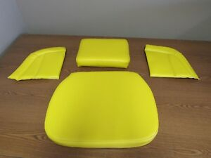 John Deere 1010 420 435 440 Tractor 4pc Yellow Deluxe Seat Set S116