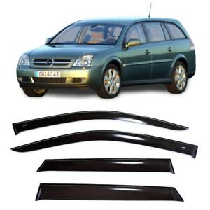 For Opel Vectra C Caravan 2002 2008 Side Window Visors Sun Guard Vent Deflectors