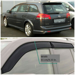 Oe14502 Window Visors Vent Wide Deflectors For Opel Vectra C Caravan 2002 2008