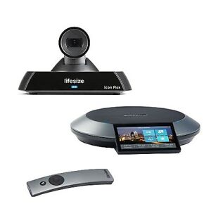 Lifesize Icon Flex Video Conferencing System Phone 1000 0000 1177 2nd Generation