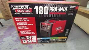 Lincoln Electric K2481 1 180 Pro mig Mig flux Cored Wire Feed Welder 230v