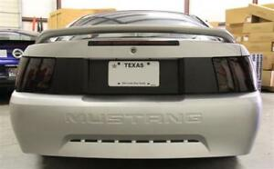 99 04 Ford Mustang Carbon Fiber Decklid Panel Blackout Trunk Stripe Vinyl Decal