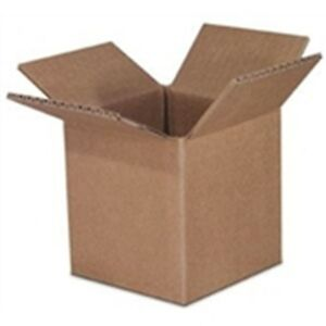 5 X 5 X 5 Boxes Shipping Cube Box Mailing Container 50 lot