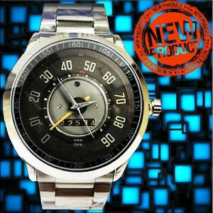 Vintage 1960 Vw Porsce 356 912 Vdo Speedometer 90 Mph Watches