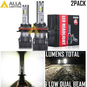 Alla Lighting 9007 Led Headlight High Low Dual Beam Bulb For Ford F Super Duty