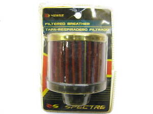 Spectre 42852 Valve Cover Breather Element Filter 1 25 Push In Type