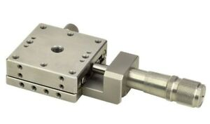 Optosigma Stainless Steel Stage 25x25mm Center Drive Metric T Tsdh 251c