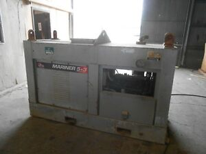 Mariner Diesel Welding Machine D500k Red D Arc Offshore Units