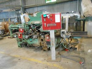 Weinig Woodworking Machinery Model Em 11 No 95674 230v 60hz