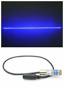 1000mw 450nm 1w High Power Pure Blue Line Laser Module 110 W 12 45mm