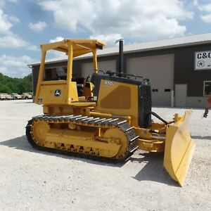 2006 John Deere 650j Long Track Dozer New Bottom Excellent Shape Low Hours