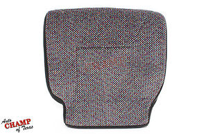 2000 2001 Dodge Ram 1500 2500 3500 Slt Driver Side Bottom Cloth Seat Cover Gray