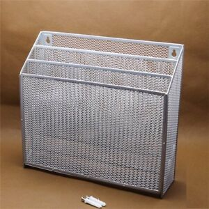 Stock Show Mesh Collection 3 pocket Wall File Organizer sorter letter Rack