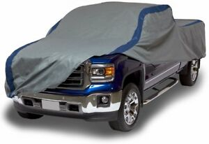 Duck Covers Weather Defender Pickup Truck Cover Fits Crew Cab Dually Long Bed