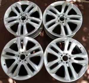 20 Mercedes Gl350 Gl450 Factory Oem Alloy Wheels Rims 20x8 1 2 2013 2015