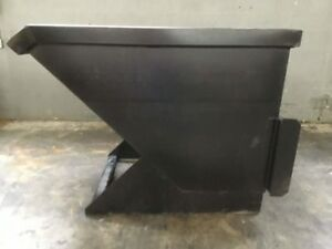 1 5 Cubic Yard Skid Steer Loader Hopper Attachment Bobcat
