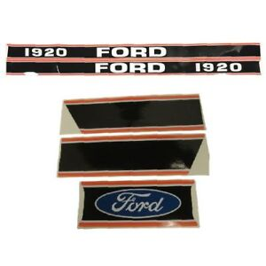 Decal Set For Ford New Holland 1920 Compact Tractor