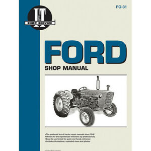 Service Manual Ford Tractor Fo 31 2000 2110 3000 4000 4100 4140 4200