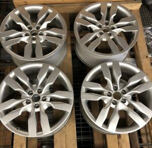 2007 2011 Audi A6 S6 Factory 19 Wheels Oem Rims 58815 4f0601025at A7 S7